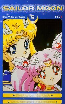 Sailor Moon Vol. 5 - German VHS