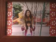 Mała Rei z mamą