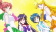Sailor Jupiter, Sailor Mars, Sailor Mercury i Sailor Venus SMC - act21