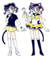 Sailor Luna in the Original design