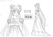 Princess Serenity Model Sheet
