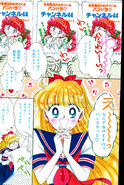 RunRun August 1991 Codename Sailor V Color Page