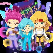 Amazon Trio CGC