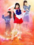 Rei and Sailor Mars 2004 PGSM Calendar