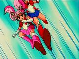 Double Sailor Moon Kick
