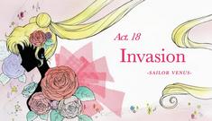 SMC; Act-18 Invasion, Sailor Venus Ep-Title Card