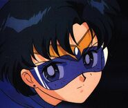 Sailor Mercury wearing her Visor