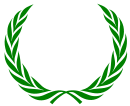 Corona de hojas de roble de jupiter