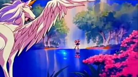 HD Sailor Moon Super Sの初め Meu - Rashiku Ikimasho