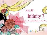 Act 33 - Infinity 7, Transformation, Super Sailor Moon