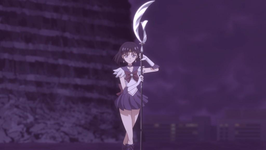 Image Sailor Moon Crystal Act 37 Sailor Saturn Silence Glaive