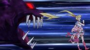 Sailor moon crystal act 27-2 a cat daimon chases sailor chibi moon and sailor moon-1024x576