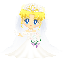 Usagi Tsukino (Wedding Dress)