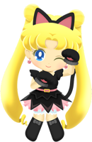 Usagi Tsukino (Black Cat)