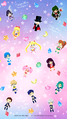 Super Inner and Outer Senshi wallpaper