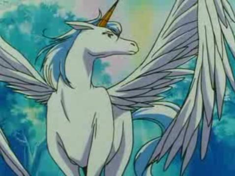 Pegasus Is A Winged Unicorn And Supporting Character In Sailor Moon Super S His Real Name Helios