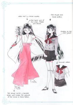 Rei Hino Manga Concept
