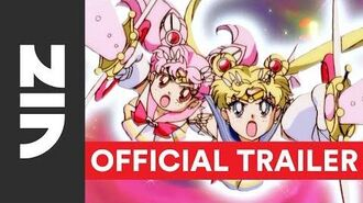 Sailor Moon SuperS the Movie on Blu-ray DVD Official English Trailer VIZ