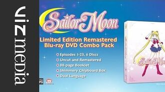 Sailor Moon Limited Edition Blu-Ray DVD Combo