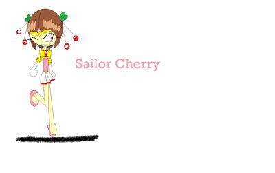 Erica as Sailor Cherry