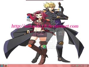 Akiza and Jack by SakuraH18