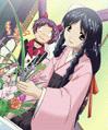 Yuki and ikebana