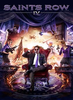 Saints Row IV - jaquette