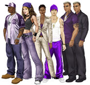 Artwork promotionnel - Saints Row 2