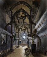 Eglise de Saints Row - Concept art intérieur