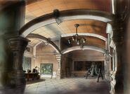 Eglise de Saints Row - Concept art bureau de Dex
