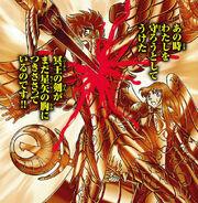 Espada clavada en Seiya (Flashback ND)