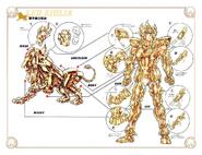 Schéma de l'Armure du Lion