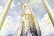 Estatua de Athena The Lost Canvas