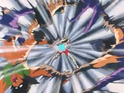 Seiya defeating Shaina's henchmen
