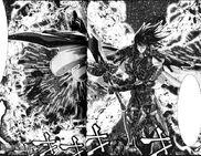 Hyperion usando La Espada de la Promiencia