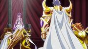 Harbinger y Genbu llegan a la reunión de Athena
