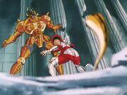 Aldebarán vs Seiya 2