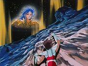 Saga y Seiya