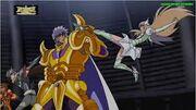 Harbinger detiene la patada de Yuna