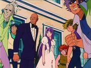 Athena, Kiki, Tatsumi y los Caballeros de Bronce