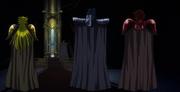 La elite de Pallas en sa palacio