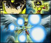 Pegasus ryu sei ken seiya v2 gold