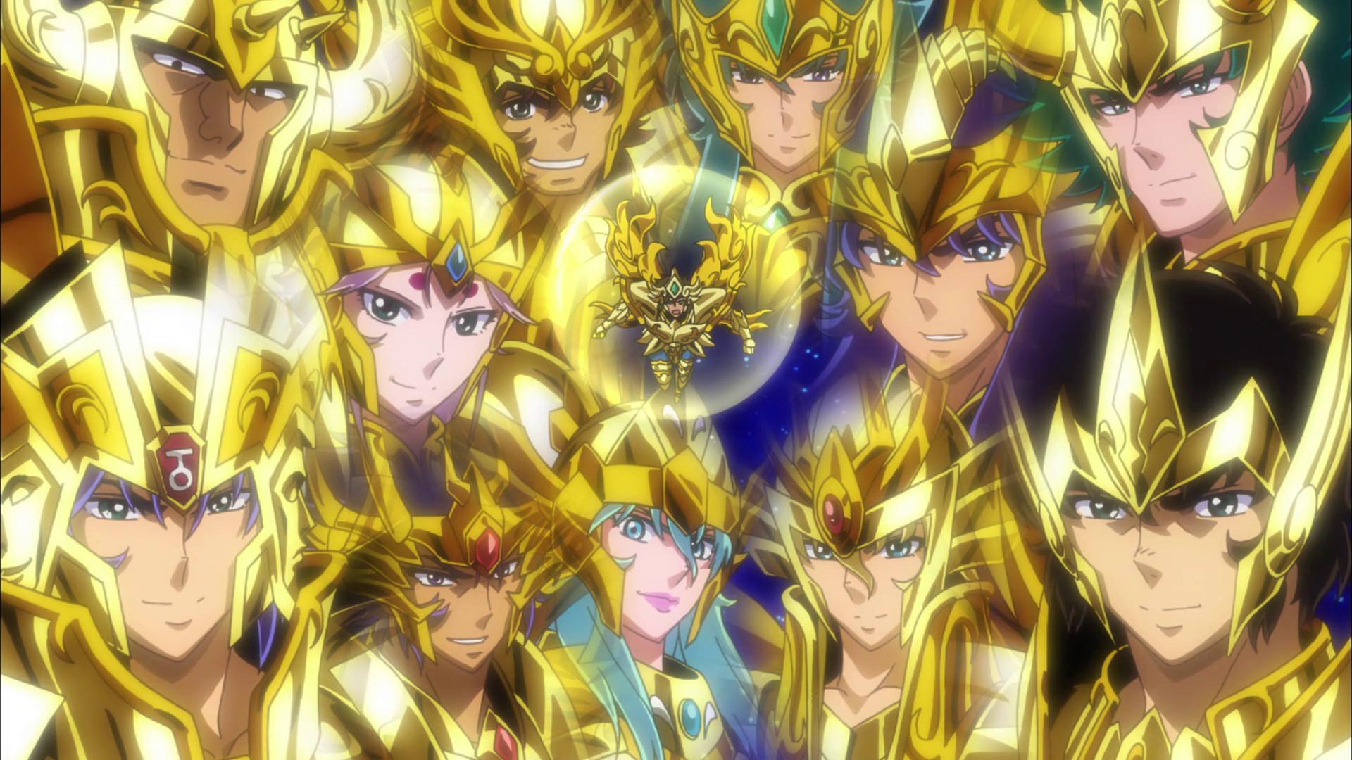saint seiya gold saint
