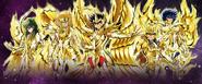 Chevaliers de Bronze en Armure d'Or Divine