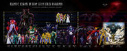 Relative Heights of Saint Seiya series Character