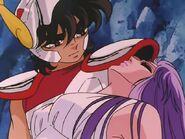 Seiya y Athena 3