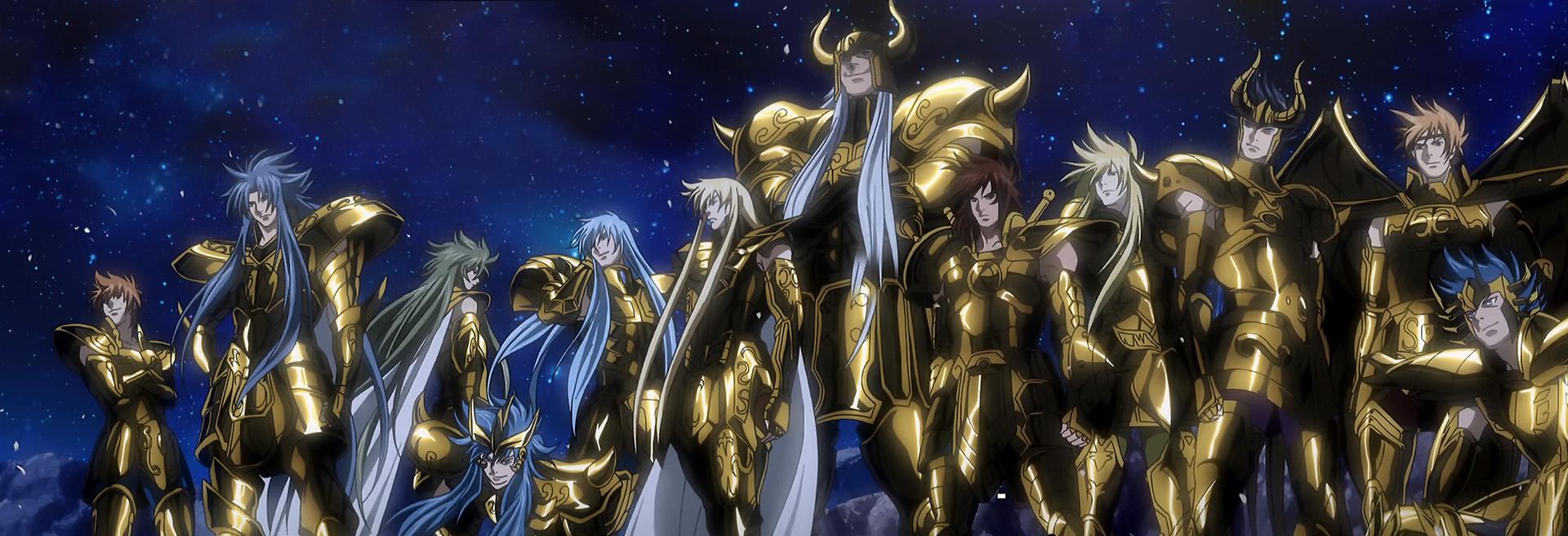 the lost canvas gold saints