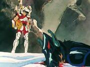 Seiya vs Pegaso Negro 2