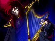 IIustraciones de Noriyo Sasaki - Shun(Hades) y Pandora