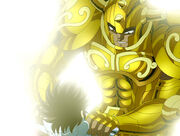 Aldebarán y Seiya 6